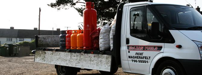 Calor Gas Delivery Service at McLEAN Fuels